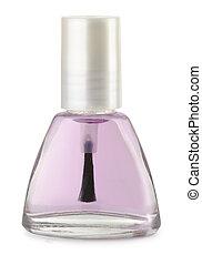Quick dry top coat - Bottle of quick dry top coat isolated...