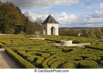 Castle of Auvers-sur-Oise, Val-d'Oise, France