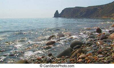 Crimean seascape Cape Fiolent, Crimea, Ukraine