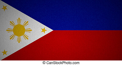 Grunge flag series - Philippines