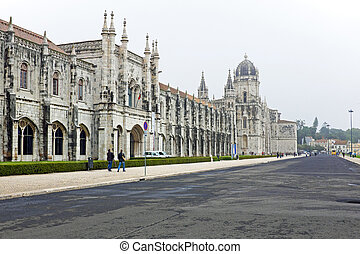 The Monastery of St. Jeronimos in Lisbon Portugal - The...
