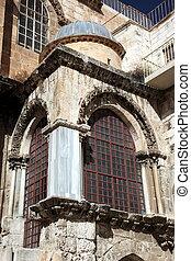 el, iglesia, santo, sepulcro, jerusalén, israel