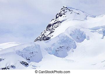 Jungfrau, Switzerland - View of Jungfrau, Switzerland The...