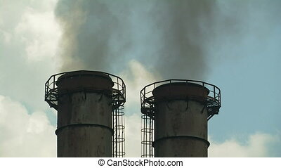 Smoking chimneys