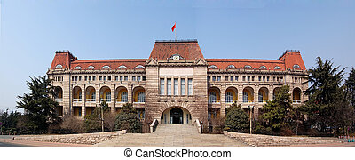 """Qingdao German Government House - \""""View of Former German..."""