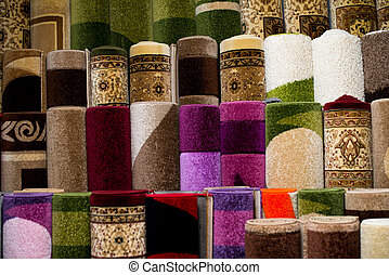 Colorful Rugs For Sale At Store - Colorful Collection Of...
