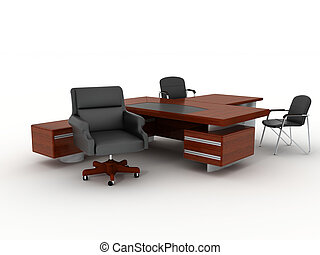 The office furniture - The office directors furniture...