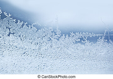 Snow Flakes - Real natural snow flakes for winter background