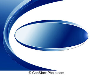 background - blu abstract background with ellipse