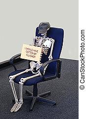 Skeleton Should Have Gotten Flu Shot