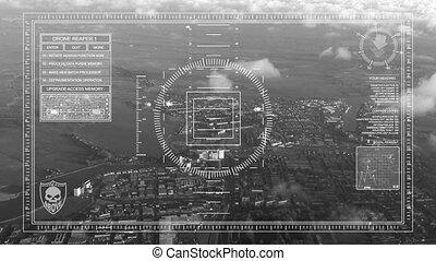 Drone reconnaissance - Reaper Drone reconnaissance