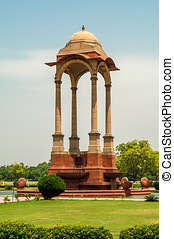 Canopy near India Gate in Delhi