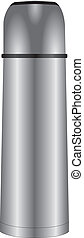Steel thermos - Modern and individually steel thermos for...