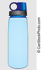Water Bottle - Plastic bottle of water to meet the thirst...