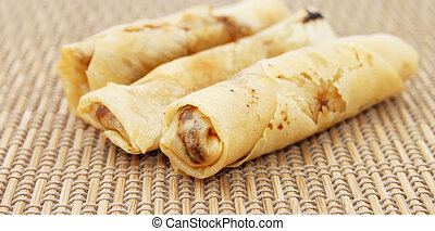 Spring rolls also known as popiah