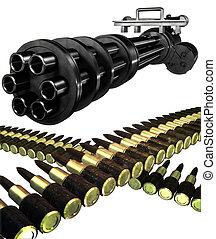 Gatling gun set
