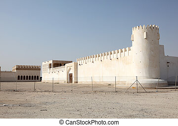 Old fort in Doha, Qatar, Middle East