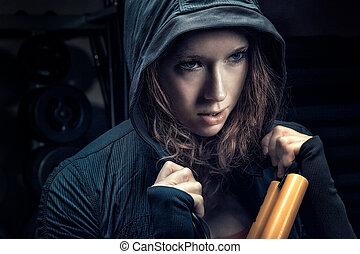 Gym junkie
