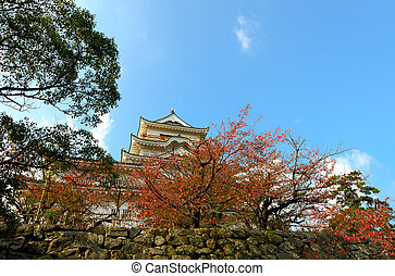 Fukuyama Castle East Side - Fukuyama Castle East Side in...