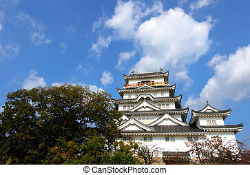 Fukuyama Castle South Side - Fukuyama Castle South Side in...