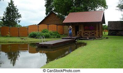 garden bath house