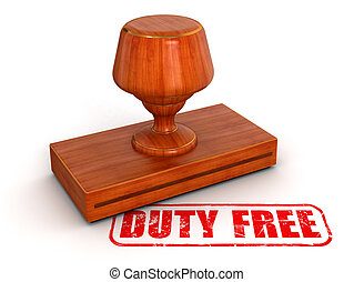 Rubber Stamp Duty free - Rubber Stamp duty free. Image with...