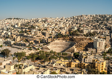 View at Amman - View at The Amman from Temple of Hercules