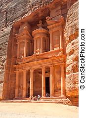 Petra Treasury - Ancient Petra Treasury