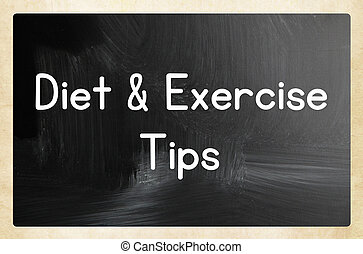 diet and exercise tips - diet exercise tips