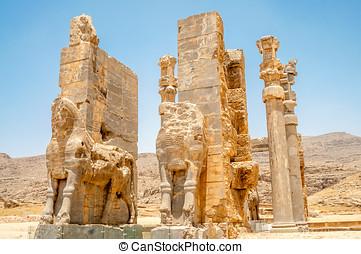 Persepolis Gate - Ancient Persepolis Gate
