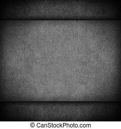 black old vintage paper texture or cardboard grey background...