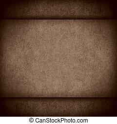 brown old vintage paper texture or cardboard sepia...