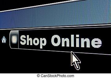 Internet Shop Online Concept