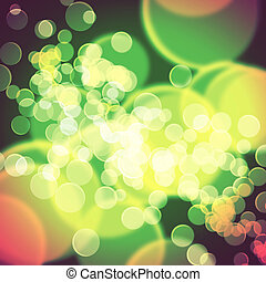 Colorful background blurred lights circle - Colorful...