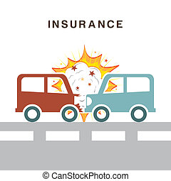insurance design over white background vector illustration
