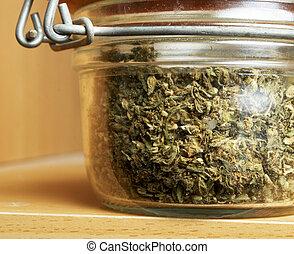 Marijuana Colorado - Weed, Colorado Marijuana Grunge Detail...