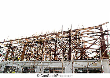 construction - The structure is made of wood from a skilled...