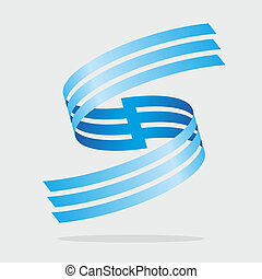 abstract sign - abstract illustration with repeating shapes...