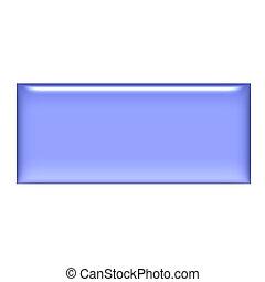 3D Purple Gel Square Button - 3d purple gel square button...
