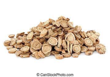 Astragalus Root - Astragalus root herb used in chinese...