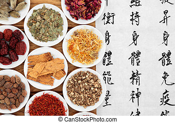 Herbal Medicine - Chinese herbal medicine selection with...