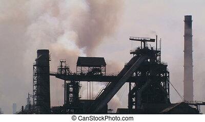 Global air pollution.