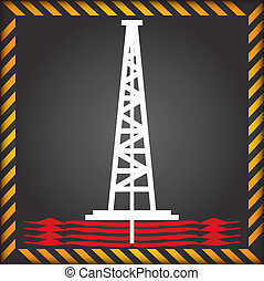 Shale gas label - anti fracking label - Label for the...