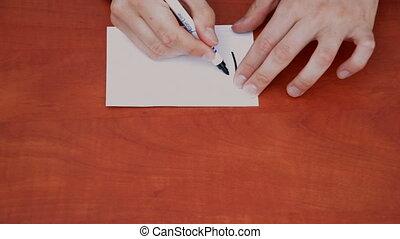 Handwritten words How Much