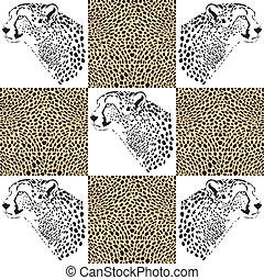 Cheetah patterns for wallpaper