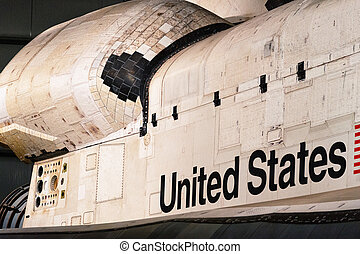 Space Shuttle Endeavour - Endeavour on display at the...