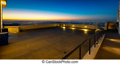 Los Angeles as seen from the Griffith Observatory - City of...