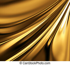 gold background - abstract gold background with smooth lines...