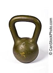 dumb bells - sport equipment for gymnastic - metal dumb...