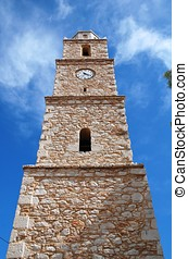 Stone clocktower, Halki
